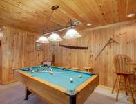 POOL TABLE at HOME SWEET HOME in Sevier County TN