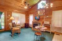 LIVING AREA at A ANGEL HAVEN in Sevier County TN