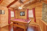 LOFT W/ POOL TABLE at AMBERWOOD in Sevier County TN