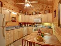 KITCHEN / DINING at HILLSIDE HAVEN in Sevier County TN