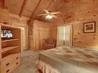 BEDROOM (KING) at HILLSIDE HAVEN in Sevier County TN