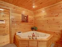 JACUZZI (BEDROOM 1) at SIMPLE COMFORTS in Sevier County TN