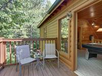 DECK (UPSTAIRS) at SIMPLE COMFORTS in Sevier County TN