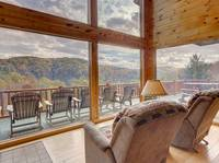 VIEW FROM LIVING AREA at SUITE ALTITUDE in Sevier County TN