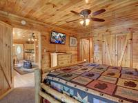BEDROOM 1 (MAIN LEVEL) at SUITE ALTITUDE in Sevier County TN