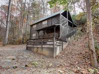 EXTERIOR (WINTER) at BEAR PAW in Sevier County TN