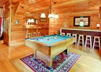 POOL TABLE at APPLESEED in Sevier County TN