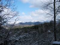 MOUNTAIN VIEW / WINTER at HONEY BEAR HIDEAWAY in Sevier County TN