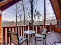 MOUNTAIN VIEW / DECK at HONEY BEAR HIDEAWAY in Sevier County TN