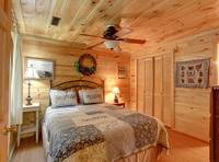 MASTER BEDROOM (Bedroom 1 / Downstairs) at CREEKSIDE in Sevier County TN