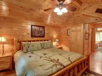 BEDROOM 1 (Upstairs) at CREEKSIDE in Sevier County TN