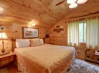 BEDROOM 2 (Upstairs) at CREEKSIDE in Sevier County TN