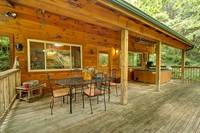 DECK at CREEKSIDE in Sevier County TN