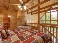 KING BED (LOFT) at MOUNTAIN PARADISE in Gatlinburg TN