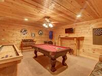 POOL TABLE (DOWNSTAIRS)