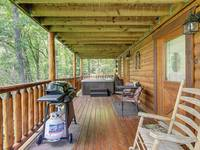 BACK DECK at GOT MOOSE in Sevier County TN
