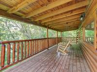 DECK at GOT MOOSE in Sevier County TN
