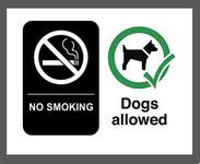 NO SMOKING & NO PETS