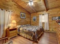 BEDROOM 2 at LAZY DAZE in Sevier County TN