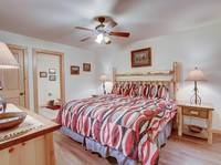 BEDROOM 3 at AMAZING MTN HIDEAWAY in Sevier County TN