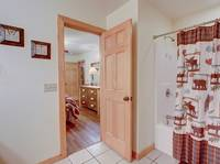 BATHROOM 3 at AMAZING MTN HIDEAWAY in Sevier County TN