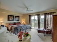 BEDROOM 1 at 151 GOLF VISTA in Pigeon Forge TN