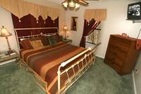BEDROOM at ABOVE THE CLOUDS in Sevier County TN