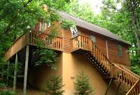 EXTERIOR at ABOVE THE CLOUDS in Sevier County TN