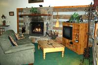 LIVING AREA at XXBEARS DEN in Sevier County TN