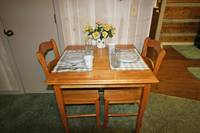 DINING TABLE at XAFTERNOON DELIGHT in Gatlinburg TN