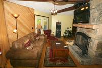 LIVING AREA at SHADYBROOK in Sevier County TN