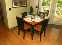 DINING TABLE at SHADYBROOK in Sevier County TN