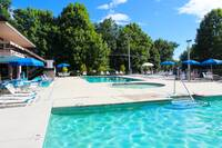 ACCESS TO CHALET VILLAGE SWIMMING POOLS (SUMMER ONLY) at SMOKEY MTN PARADISE in Gatlinburg TN