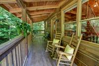 DECK at DREAMCATCHER in Sevier County TN