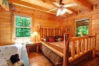 BEDROOM at AS GOOD AS IT GETS in Sevier County TN