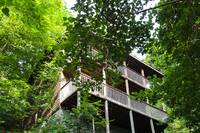 EXTERIOR at XHELENS HAVEN in Sevier County TN