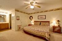 BEDROOM 1 at XHELENS HAVEN in Sevier County TN