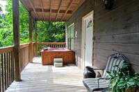 DECK at XHELENS HAVEN in Sevier County TN