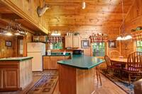 KITCHEN AREA at COUNTRY CHARM in Sevier County TN