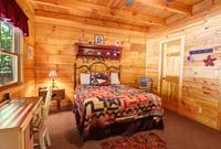 BEDROOM 2 at BEN'S HIDEOUT in Sevier County TN