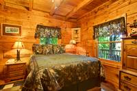 BEDROOM 2 at MOUNTAIN MISCHIEF in Sevier County TN