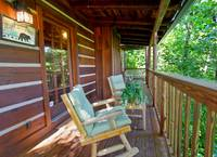 DECK at MOUNTAIN MISCHIEF in Sevier County TN