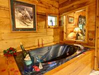 JACUZZI at MOUNTAIN MISCHIEF in Sevier County TN