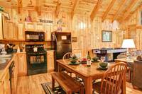 KITCHEN & DINING at WHISPERING WINDS in Sevier County TN