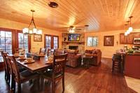DINING AREA at MOUNTAIN MAJESTY in Sevier County TN