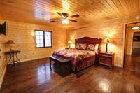 BEDROOM 3 at MOUNTAIN MAJESTY in Sevier County TN