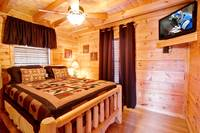 BEDROOM 2 at UP A CREEK in Sevier County TN