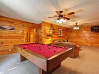 POOL TABLE at MOUNTAIN PAS in Pigeon Forge TN