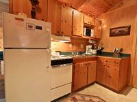 KITCHEN at XANGELS HIDEOUT in Sevier County TN