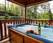 HOT TUB at X2nd to NONE in Pigeon Forge TN